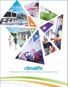 Climalife product catalogue front page