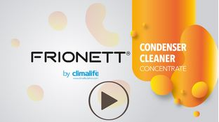 Condenser cleaner video