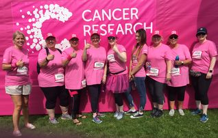 Climalife team raising money for Cancer Research