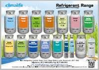 Climalife refrigerant card