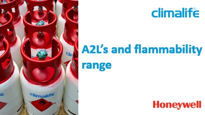 A2L's and Flammability Range