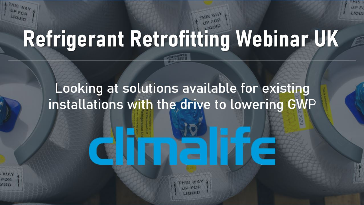 Refrigerant Retrofitting webinar