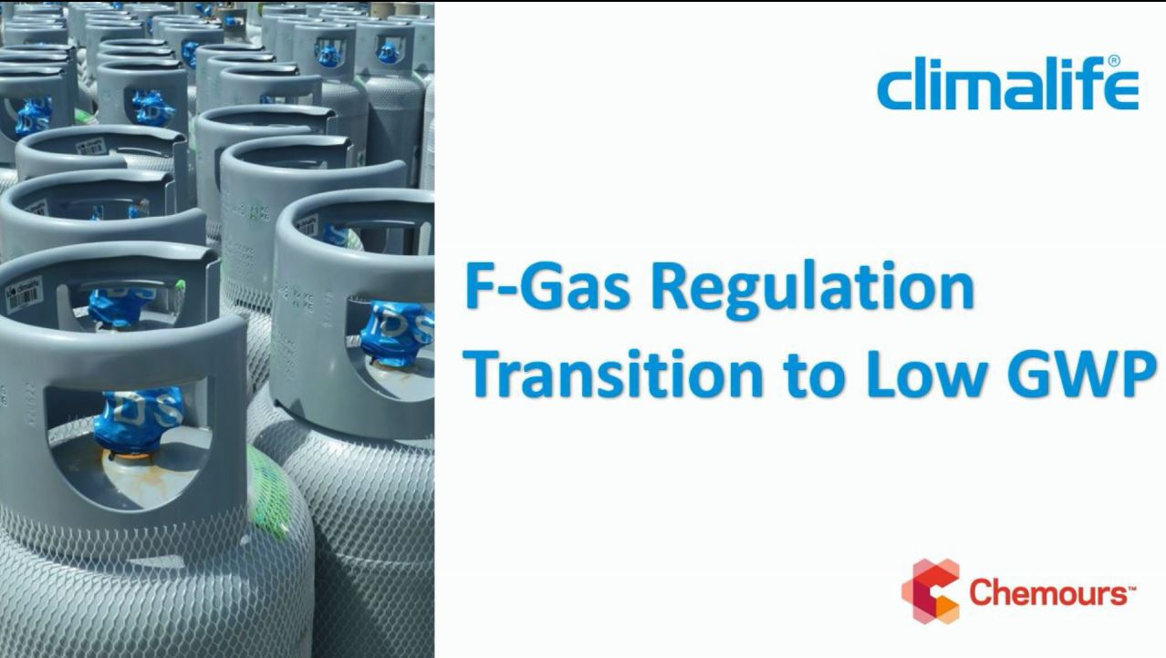 F-Gas Regulation and Transition to Low GWP