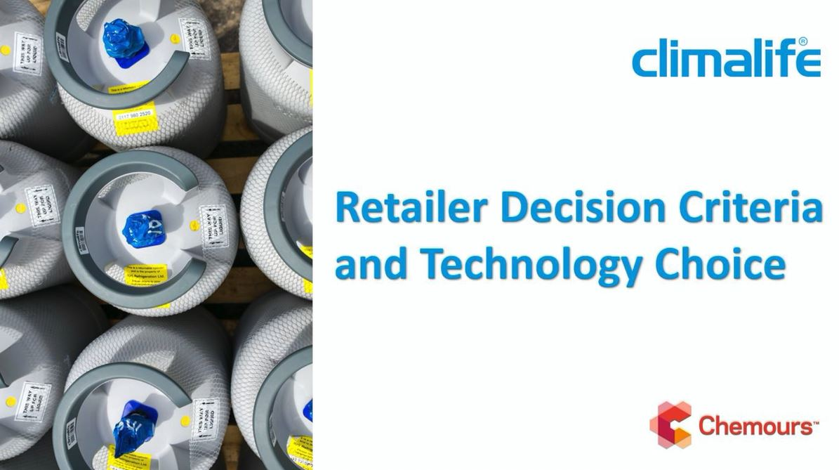 Retailer decision criteria and technology choice