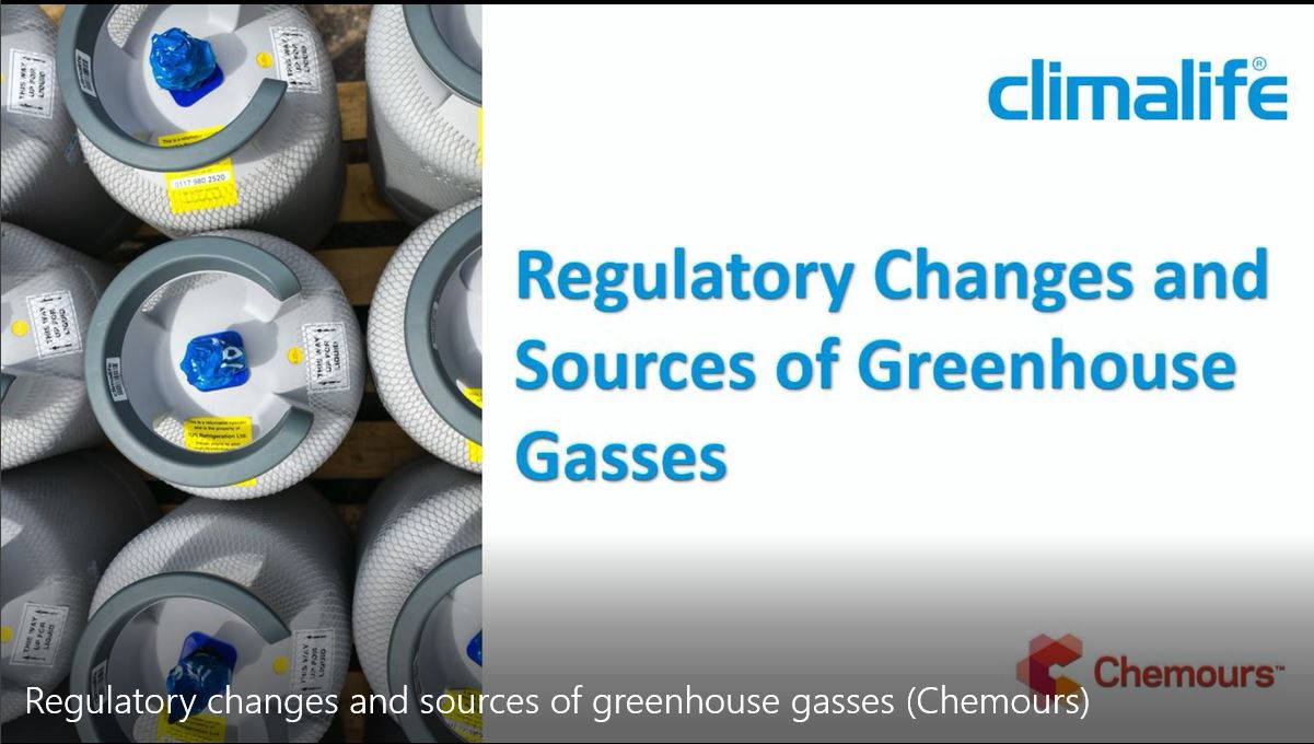 Chemours talk about regulatory changes in the cooling industry