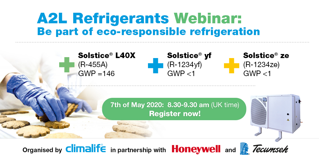 Climalife A2L Refrigerant Webinar 7 May 2020 at 08:30