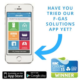 Picture of FGas solutions mobile app