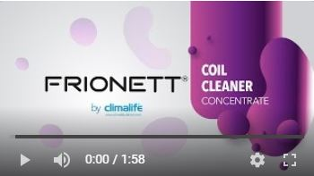 Frionett Coil Cleaning product