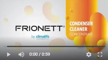 Frionett Condenser Cleaning product