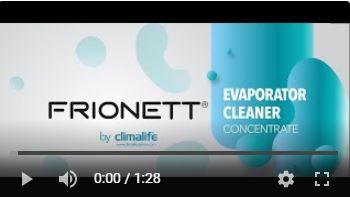 Frionett Evaporator Cleaner